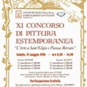 XI Concorso di pittura estemporanea L'Arte a Sant'Eligio e piazza Mercato