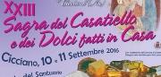 Sagra del Casatiello e dei dolci fatti in casa 2016 a Cicciano