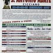 festa sant'Antonio Abate Cicciano 2017