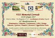 VIII memorial Correale
