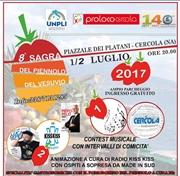 sagra Piennolo Cercola 2017