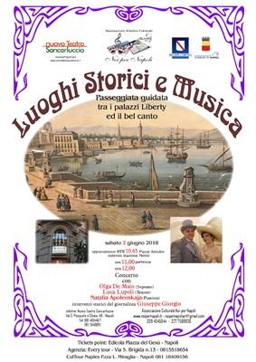 palazzi Liberty Concerto Sancarluccio Napoli