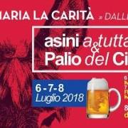 asini Birra Palio Ciuccio 2018
