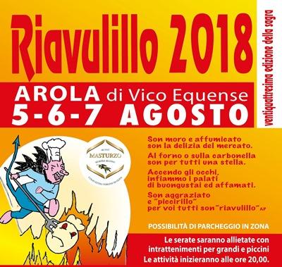 sagra Riavulillo 2018