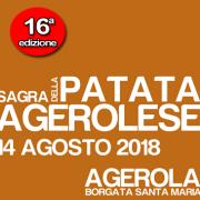 sagra Patata Agerolese 2018