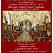 concerto Immacolata Noi Per Napoli 2018