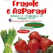 sagra Fragole Asparagi Carditello 2019