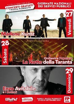 concerti Piazza Plebiscito
