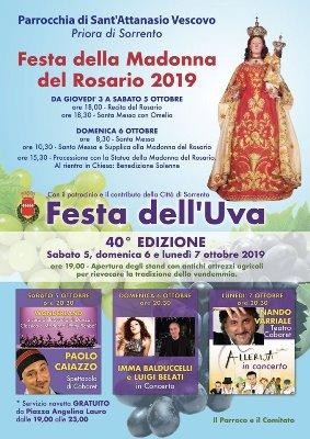 festa Uva Sorrento 2019