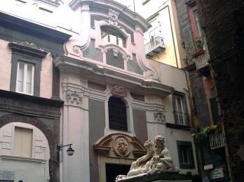 facciata cappella di santa maria assunta pignatelli a napoli