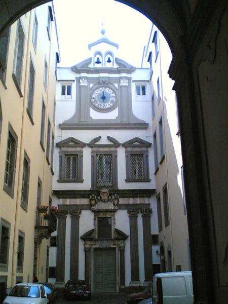 facciata cappella dei poveri a napoli