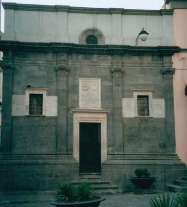 facciata cappella pontano a napoli