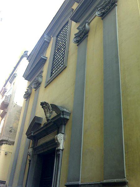 facciata cappella sansevero napoli