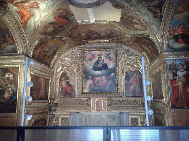 cappella delle anime del purgatorio maschio angioino