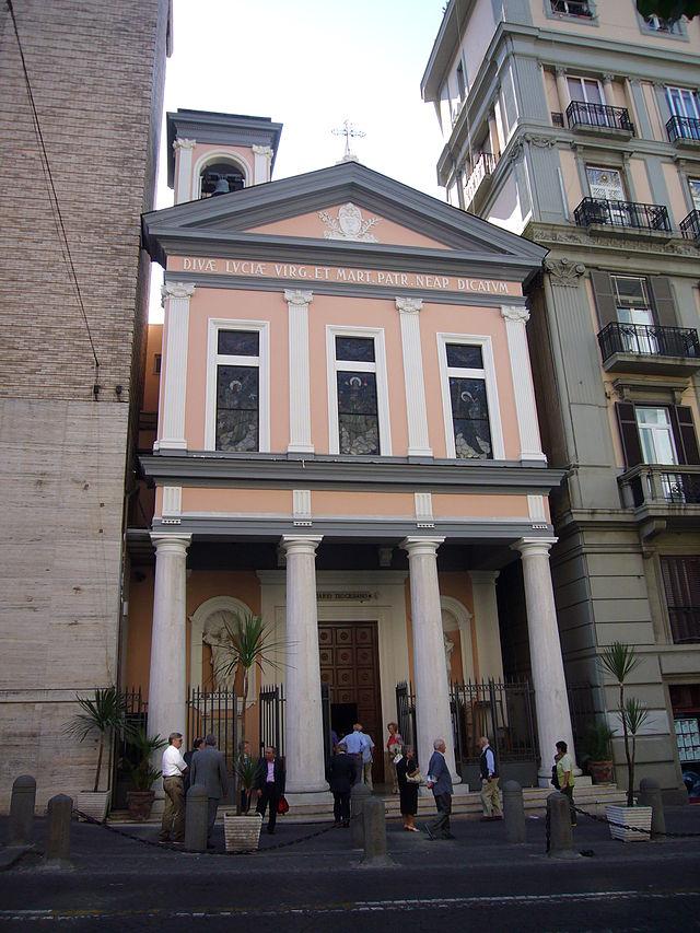 facciata Basilica di Santa Lucia a Mare