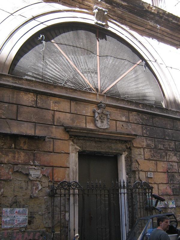 facciata Chiesa di Sant'Andrea dei Cocchieri