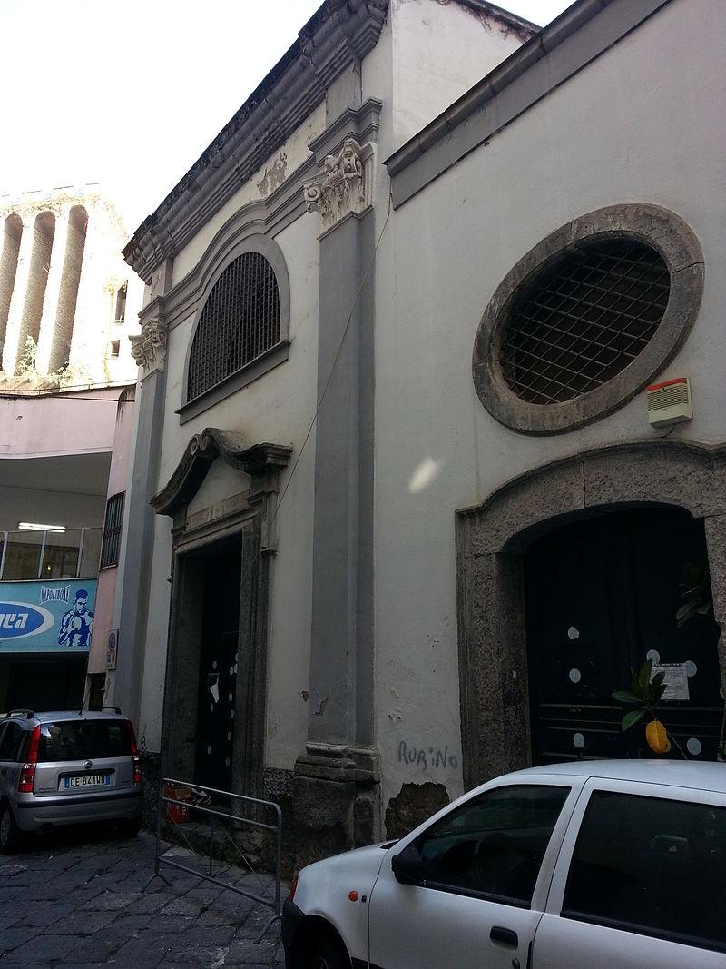 facciata Chiesa di Sant'Antoniello del Sangue di Cristo ai Ventaglieri