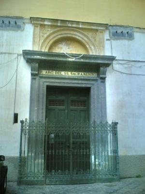 Chiesa della Confraternita del Santissimo Sacramento