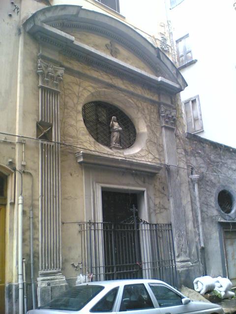 facciata Chiesa di Sant'Eligio dei Chiavettieri