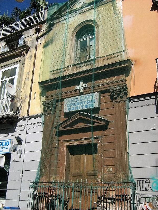 facciata Chiesa dell'Immacolata degli Operatori Sanitari