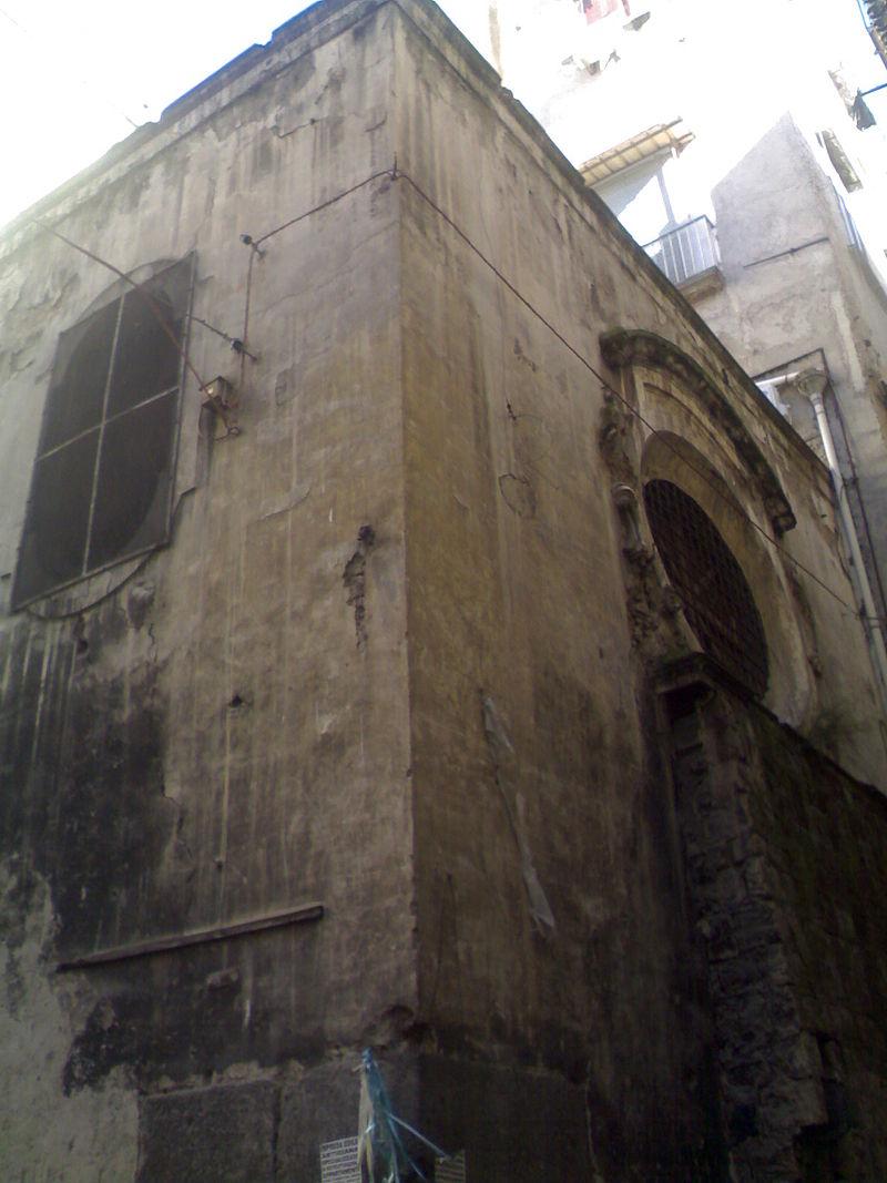 facciata Chiesa di Santa Maria la Bruna a Vicolo Scassacocchi