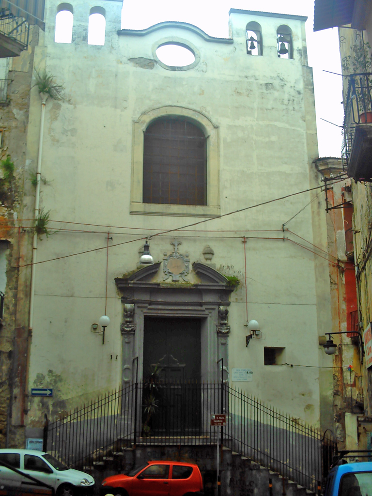 facciata Chiesa di Santa Maria Ognibene