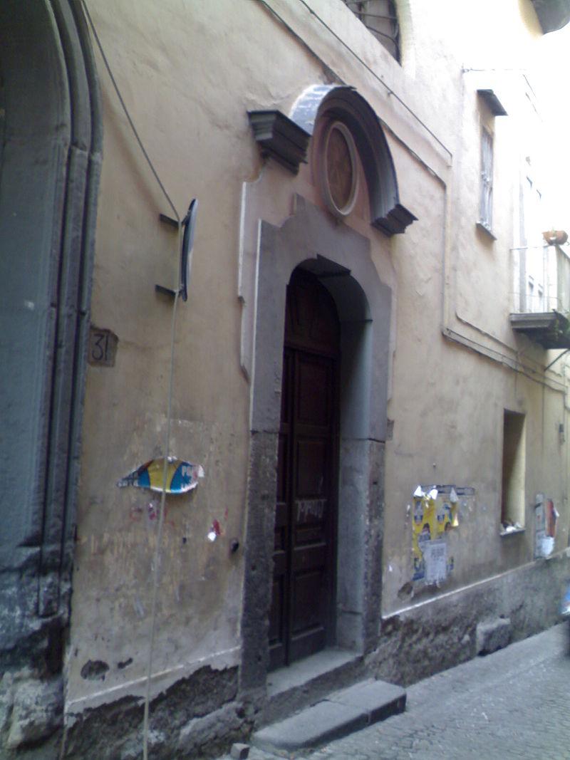 facciata Chiesa di Santa Rosa a Regina Coeli
