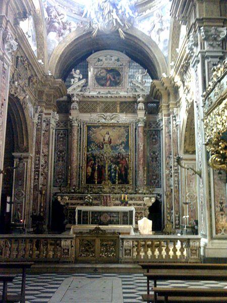 abside san gregorio armono napoli