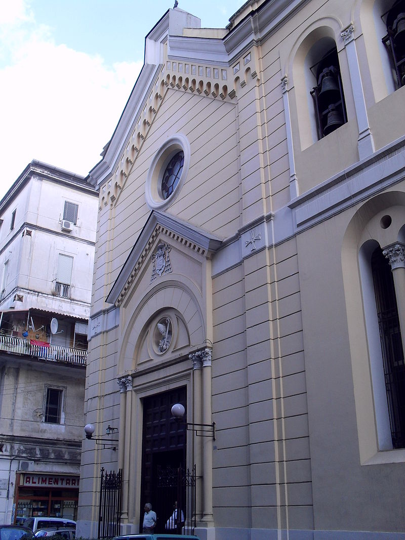 facciata Chiesa di Sant'Alfonso all'Arenaccia