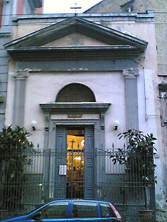 facciata Chiesa di Sant'Anna a Porta Capuana