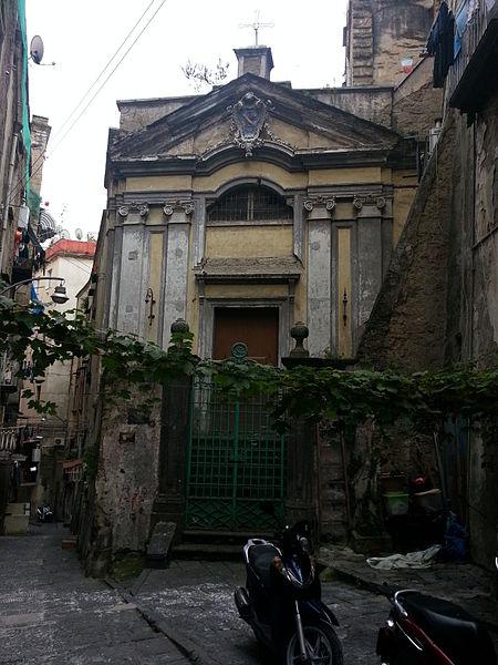facciata Chiesa di Sant'Antonio ai Monti