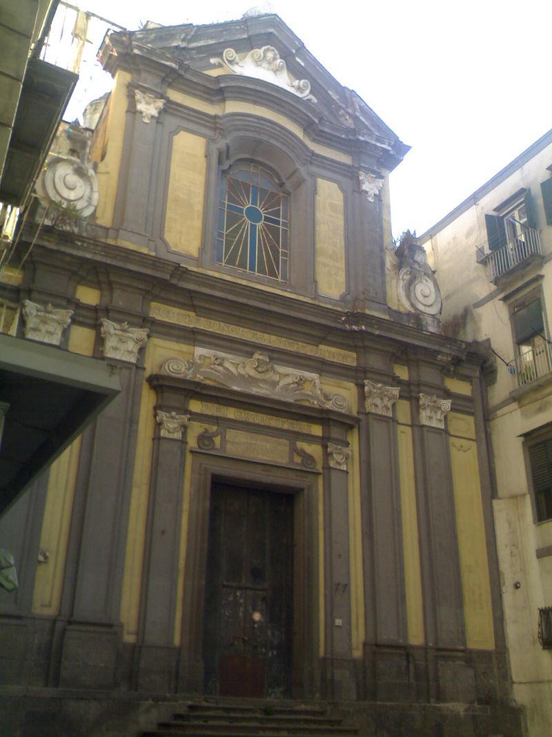 facciata Chiesa di Sant'Aspreno ai Crociferi