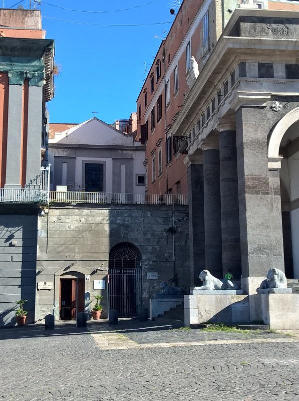 facciata Chiesa di Santa Croce di Palazzo