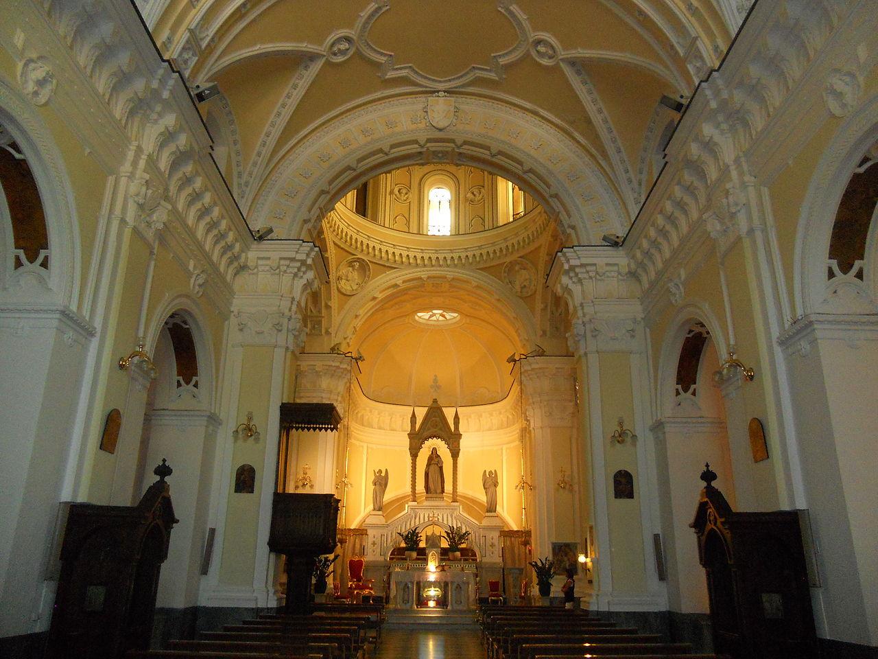 chiesa di santa lucia vergine al monte a napoli
