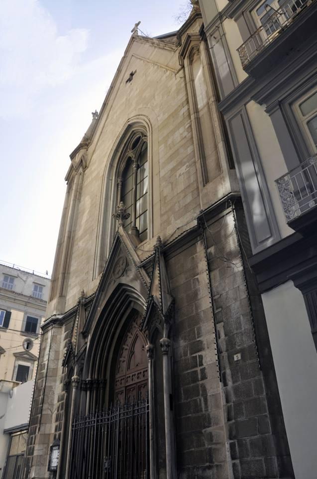 facciata Chiesa luterana di Napoli