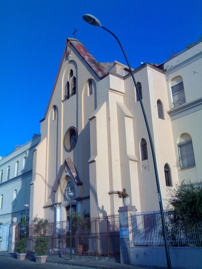 facciata Chiesa di Santa Maria di Bellavista