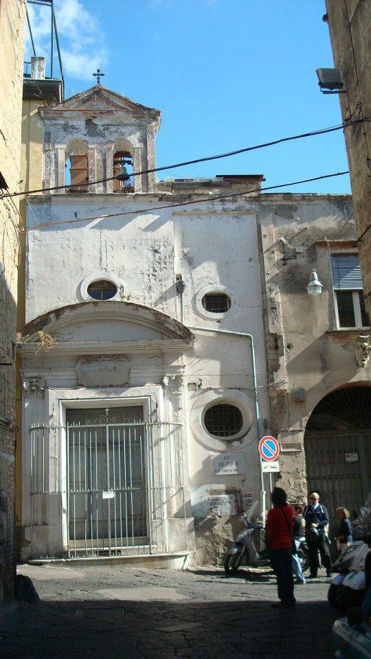 facciata Chiesa di Santa Maria delle Grazie al Moiariello