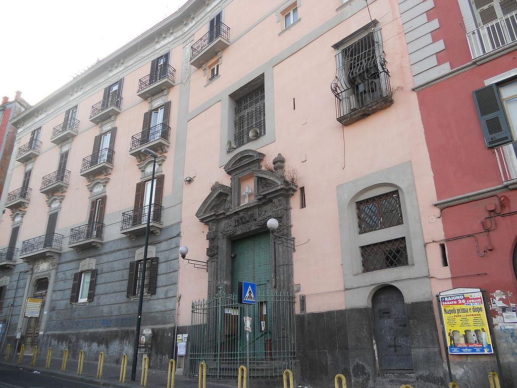 facciata Chiesa di Santa Maria Maddalena de' Pazzi