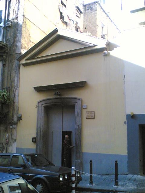 facciata Chiesa di Santa Maria la Palma