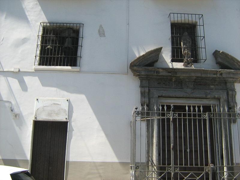 facciata Chiesa di Sant'Onofrio alla Vicaria