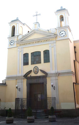 facciata Chiesa di Santo Strato