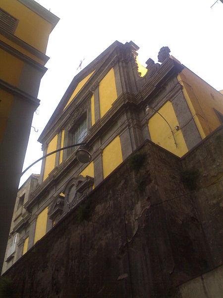 facciata chiesa sant'agostino degli scalzi