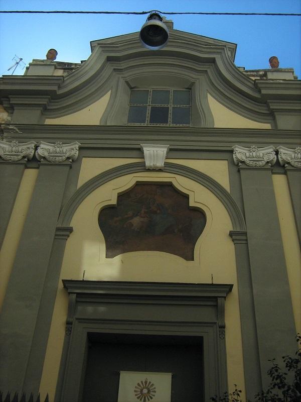 facciata chiesa santa maria dell'aiuto