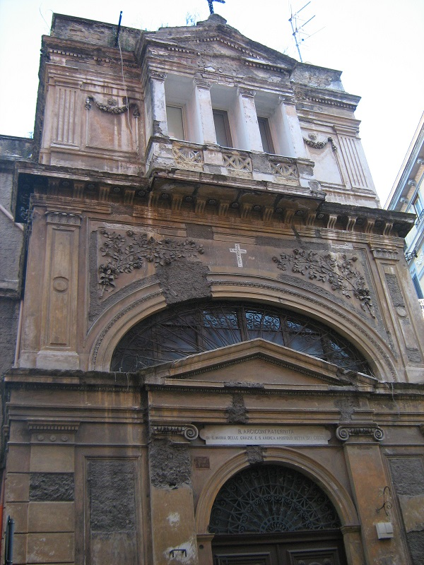 facciata Chiesa di Sant'Andrea Apostolo dei Gattol