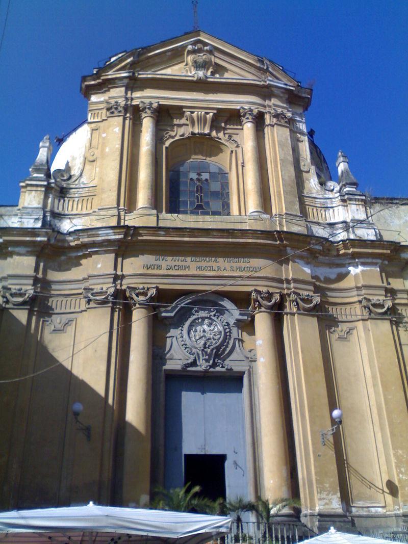 facciata Chiesa di Sant'Anna a Capuana