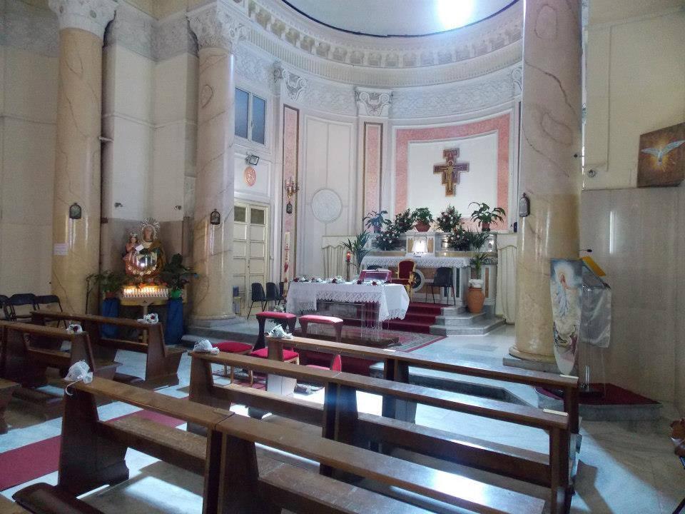 interno Chiesa di Sant'Anna al Trivio