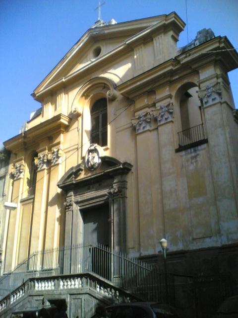 facciata Chiesa di Sant'Antonio a Tarsia