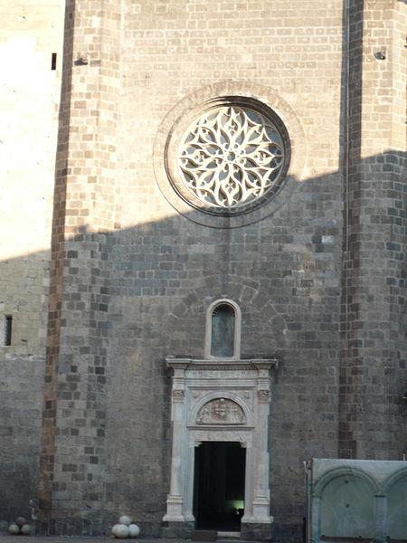 facciata chiesa di santa barbara o cappella palatina
