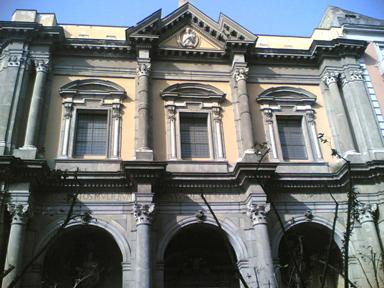 facciata chiesa san giovanni battista delle monache