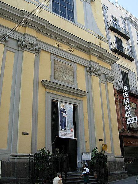 facciata chiesa santa brigida